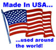 Made In USA...used around the world